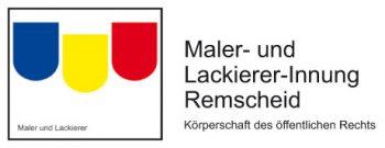 Herzlich Willkommen bei Ihrer Maler- und Lackierer-Innung Remscheid Logo